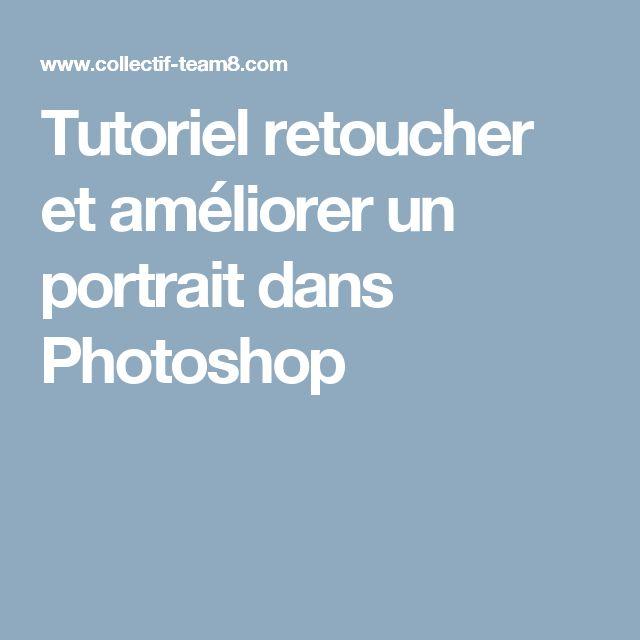 Tutoriel retoucher et améliorer un portrait dans Photoshop