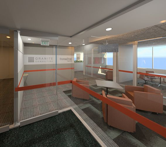 #Office Design_Granite Consulting & Thomas Frost_#Reception_render 1
