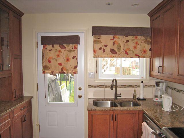 telas flores cortinas cocinas ideas parakitchen