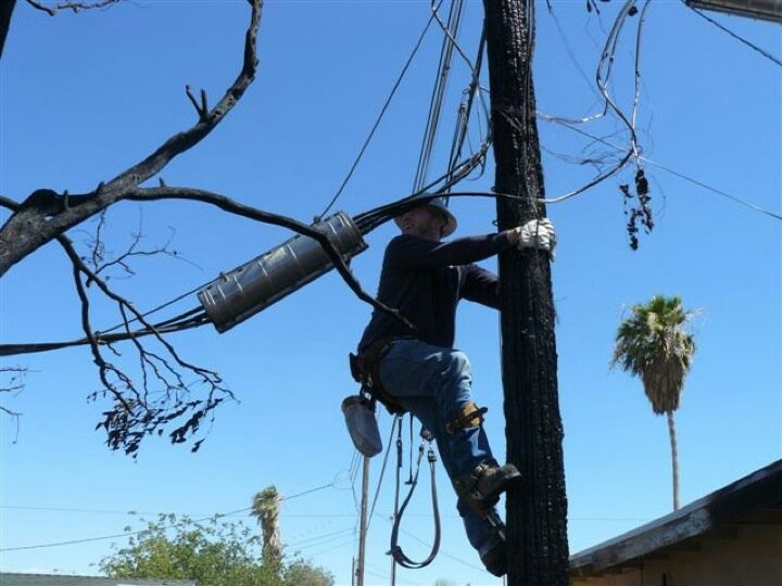 Man On Fire Pole : Best images about my work and from other utility