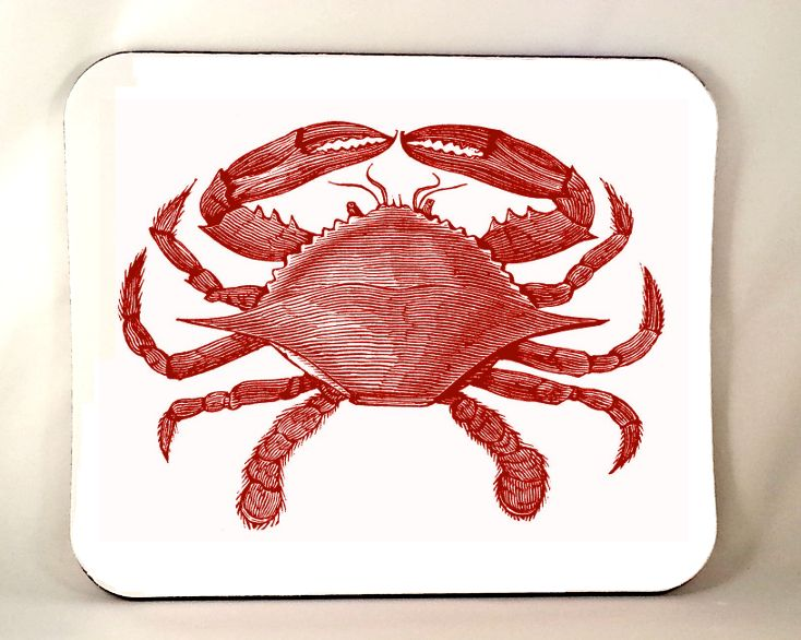Crab Mouse Pad