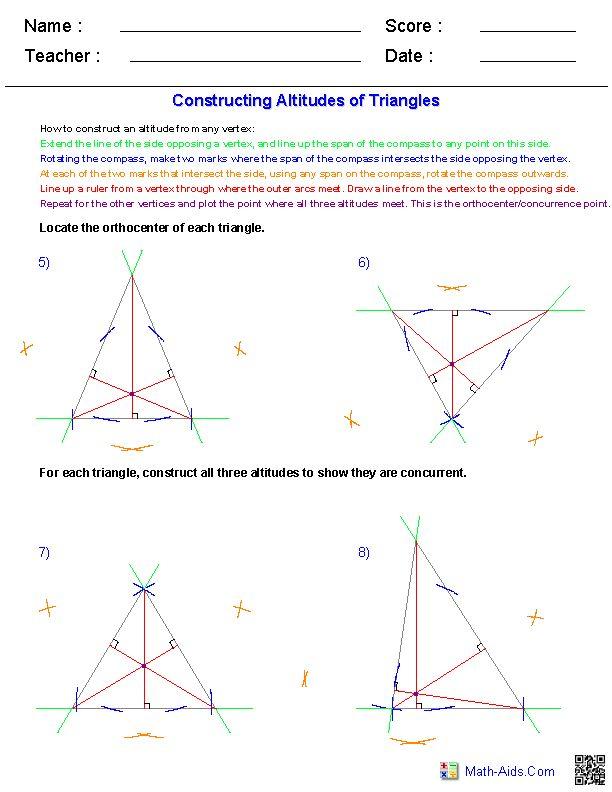 10th Grade Geometry Worksheets Geometry Worksheets 10th Grade Geometry Math Geometry