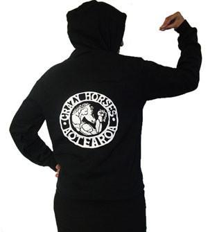 Crazy Horses Hoodies