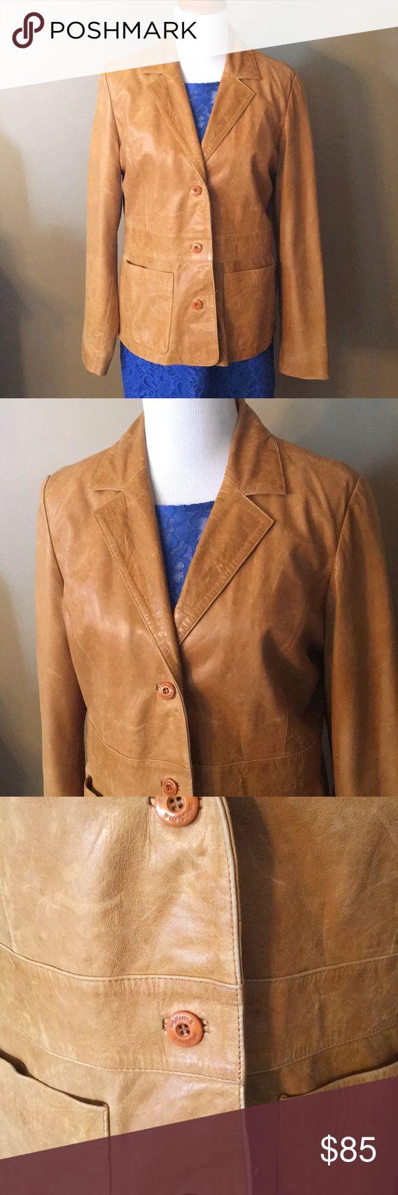 Wilson Maxima Leather Jacket Tan leather jackets