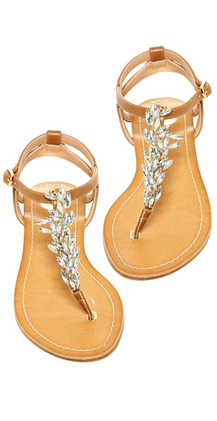 Jeweled Sandals ❤︎ L.O.V.E.