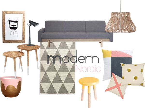 Modern Nordic Lounge Room -  Chamomile and Peppermint Blog