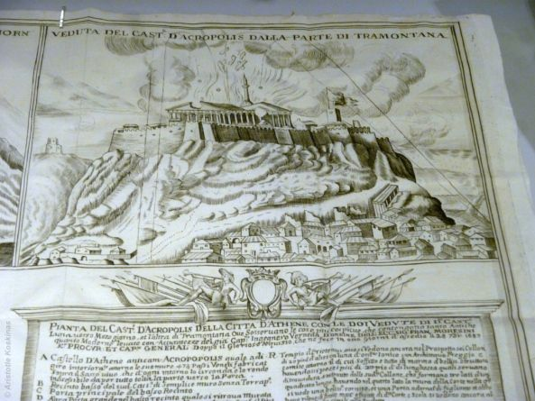 How the Parthenon was blown up, inpictures! #Acropolis #Athens #greekhistory