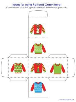 Christmas Sweaters Mini Printable Pack - 1+1+1=1