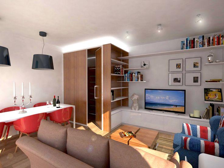 oltre 25 fantastiche idee su ingresso piccolo su pinterest | sala ... - Creare Una Zona Studio In Soggiorno 2