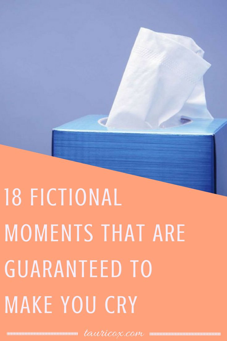 Everyone needs a good cry sometimes, right? Check out this list of novels, movies and TV shows that will get the tears flowing.