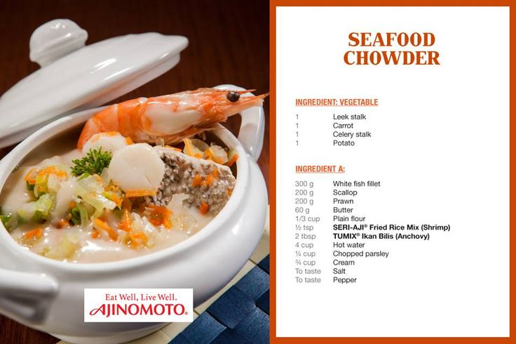 Chowder With Asian Flavors Recipe — Dishmaps