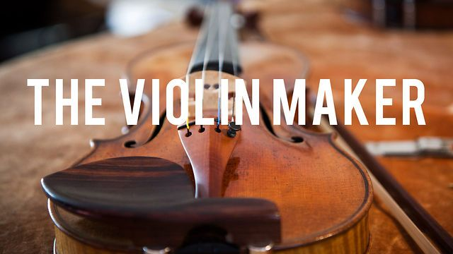 "The Violin Maker by Dustin Cohen. Made in Brooklyn. A glimpse into the work of master luthier Sam Zygmuntowicz. Reading the book ""The Violin Maker"" about him several years ago was very inspiring to me as a craftsperson."