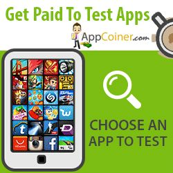 Appcoiner - Get Paid To Test Apps -    #getpaid #makemoney #workfromhome #earnmoneyonline #onlineincome follow link on tweet