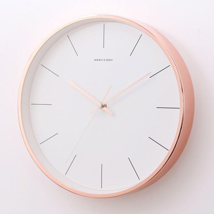 Cheap Scandinavian Style Creative Modern Simple Measure Silent Wall Clock Wall Clock Cheap Creative Measure Modern Scandinavian Si Scandinavian Style Clock Modern Clock