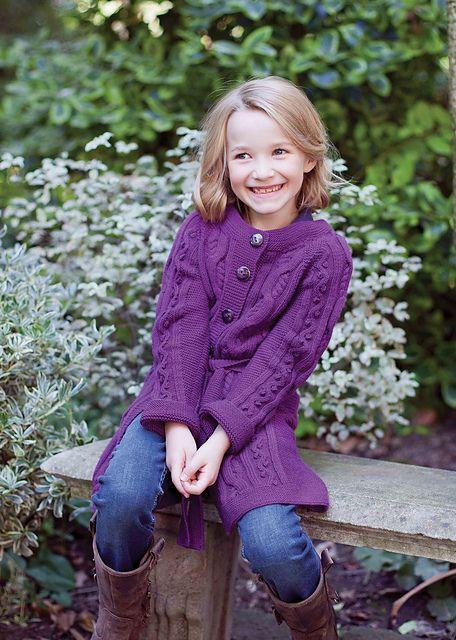 Ravelry: Livia Child Cardigan pattern by MillaMia Sweden #free #knitting #pattern