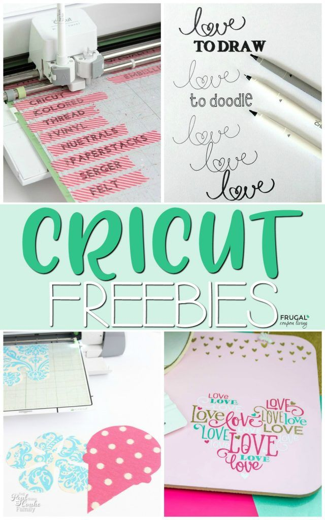 Cricut Craft Room Free Projects