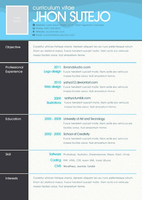 65 best images about creative resume templates on