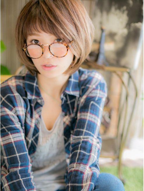 カバーヘア ブリス 戸田公園店(COVER HAIR bliss) *+COVER HAIR+*…前髪がアクセント♪大人ボブa