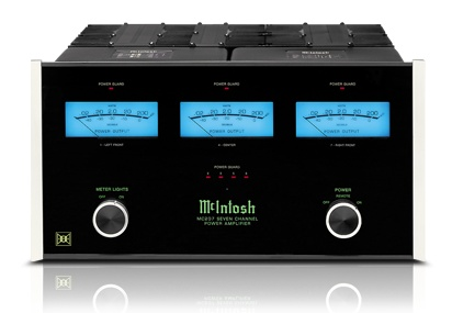 McIntosh MC207 Amplifier, 7 Channel Home Theater Amplifier, Multi Channel Amplifier MC207