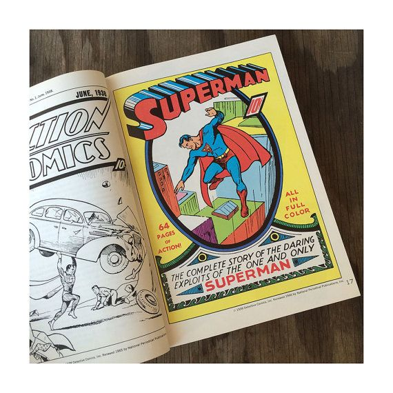 Superman Book  Superman From the Thirties by JustSmashingDarling