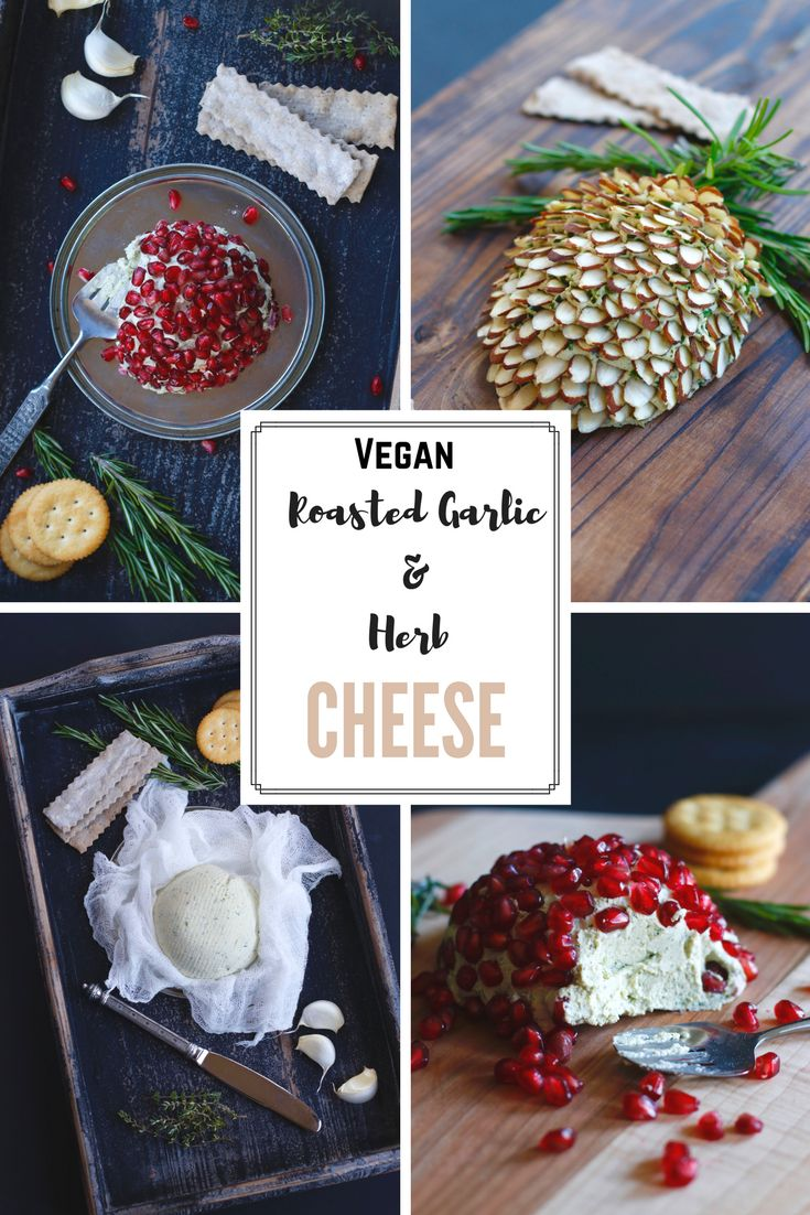 """I could eat this whole """"""""Vegan Roasted Garlic Herb Cheesy Spreadable Dip"""" all by myself. It is so fantastic. This is one of my absolute favorite cheese like dips, and it is perfect for the Holiday Season! You can make this look festive and fun, get the family involved. I have included pictures of several suggestions for how to serve this. Hope you like this as much as I do."""