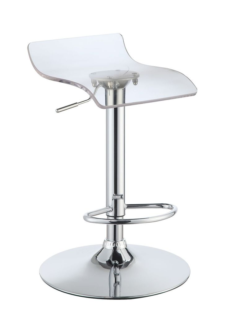 Enitial Lab Pascal Contemporary Low-Backed Bar Stool (Set of Two)
