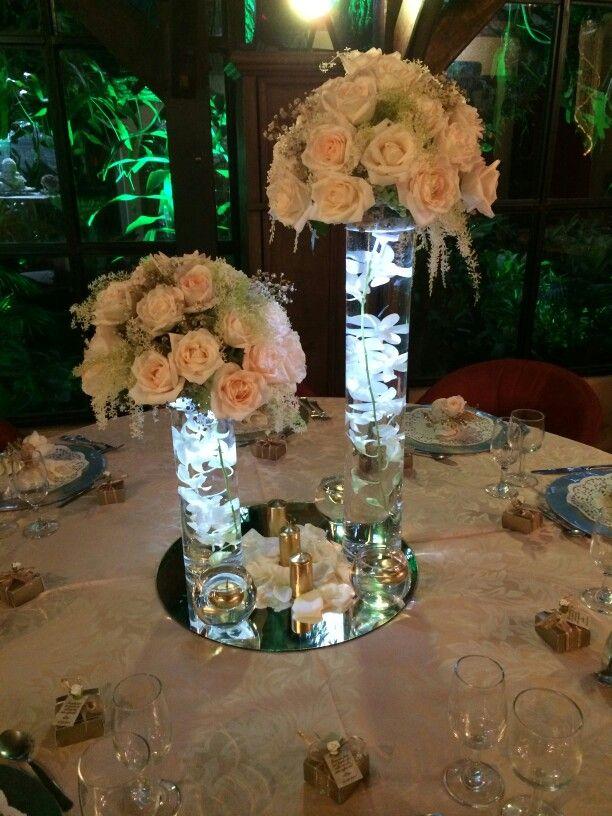 Centro de mesa con luz led Floristera Marvin  Eventos