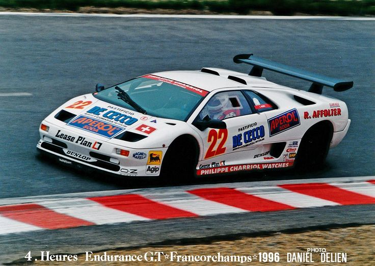 #BackInTime... when Loris Kessel was racing with Lamborghini #22 at Spa-Francorchamps circuit in 1996