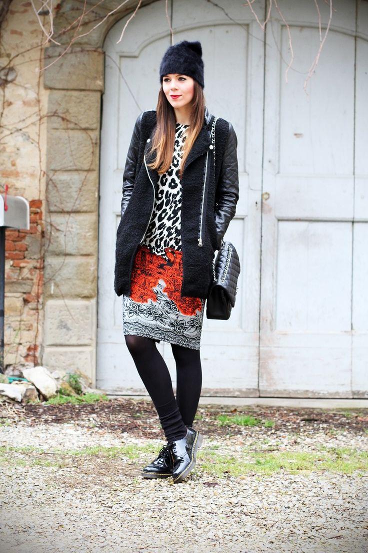 #fashion #fashionista Irene outfit look streetstyle casual undergrounf fashion week settimana della moda milano blogger italiana irene's closet irene colzi dr.martens