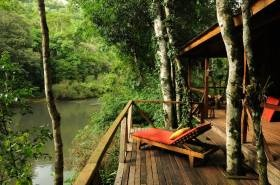 I want to go to there...   Don Enrique eco-lodge, located in the Paranaense jungle of Argentina.