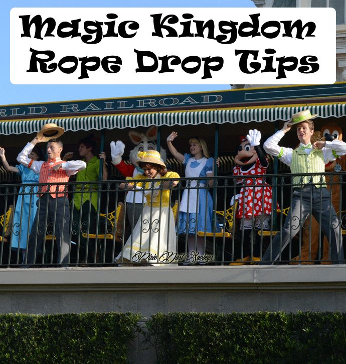 Magic Kingdom Rope Drop Tips. Disney World Tips to make your trip perfect.