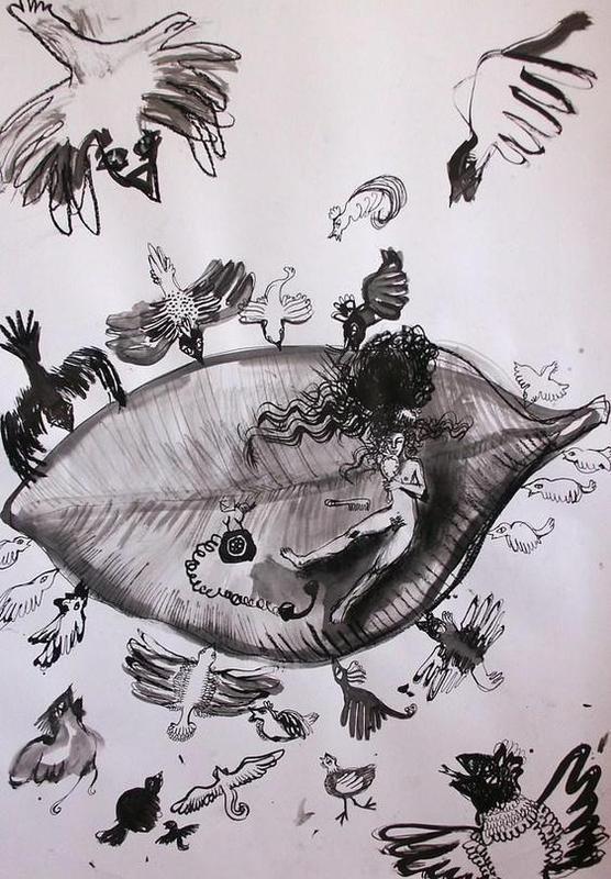 Ilustracja Józefiny Piotrowskiej-Szukalskiej