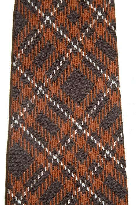 Argyle Necktie Vintage Custom Cravatieur clip on tie 4 by RayMels, $10.00