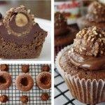 Attention, l'abus des bonnes chosesest indispensable à la santé et au moral ! Ce qu'il vous faut (pour 6 à 8 cupcakes) : - 2 oeufs - 40 gr de sucre - 25 gr de poudre d'amande - 20 gr de farine - 50 gr de beurre - 50 gr de chocolat - Un pot de nutella...