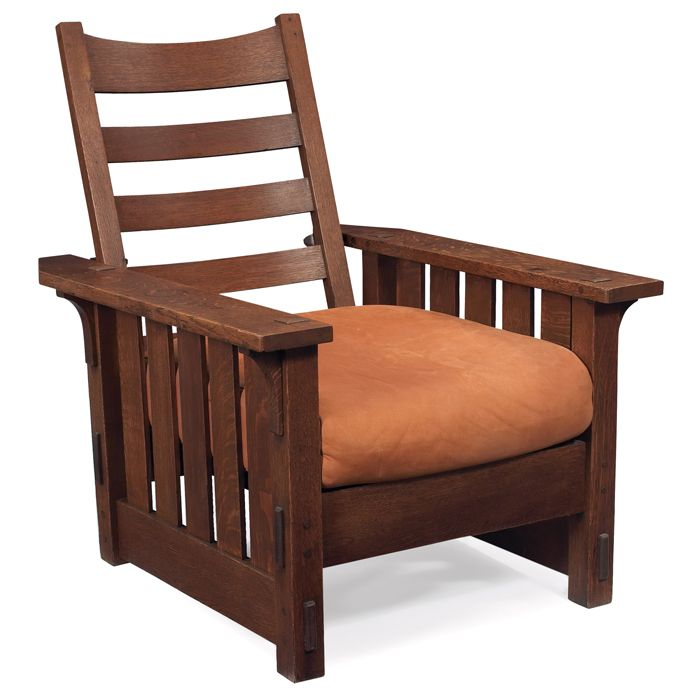 Gustav Stickley Morris Chair Craftsman Style Furniture
