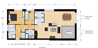 Afbeeldingsresultaat voor plattegrond woning met slaapkamer beneden
