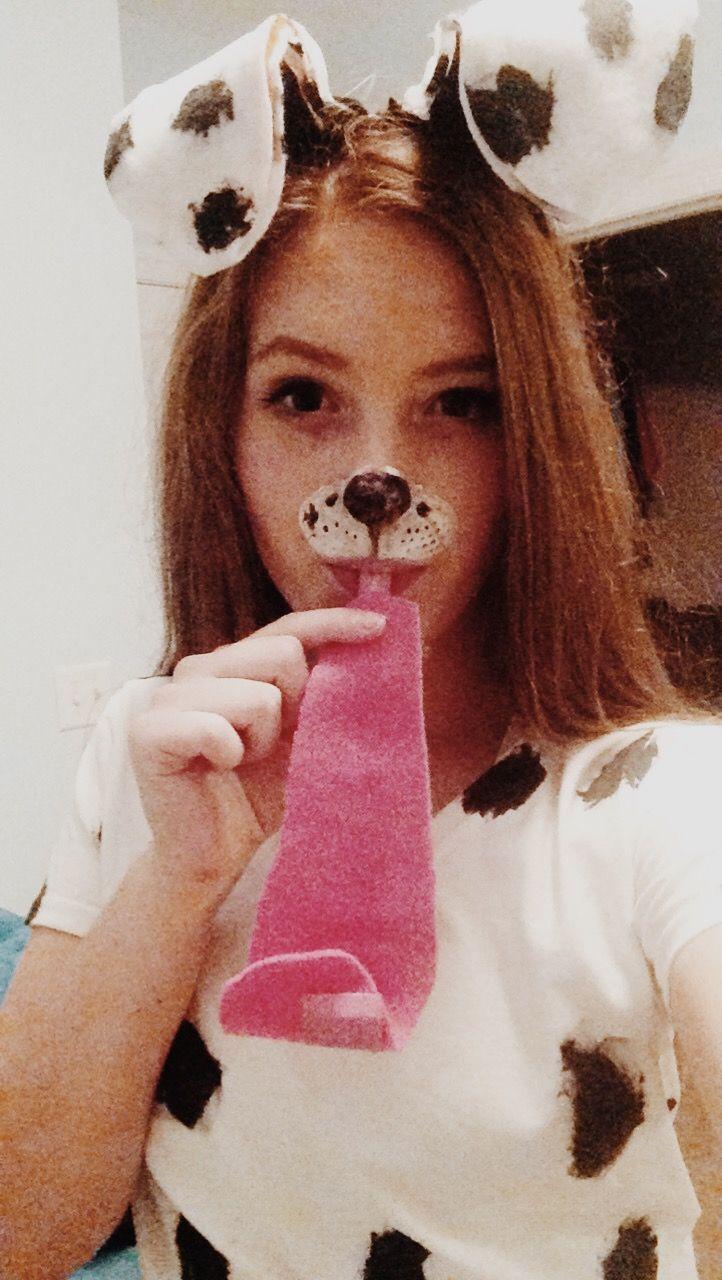 Dalmatian snapchat filter costume
