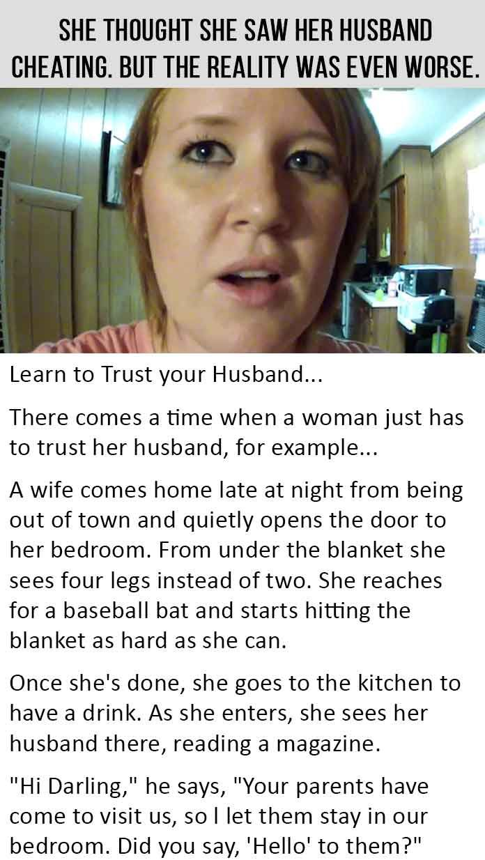 She Thought She Saw Her Husband Cheating. But The Reality Was Even Worse. #LOL…