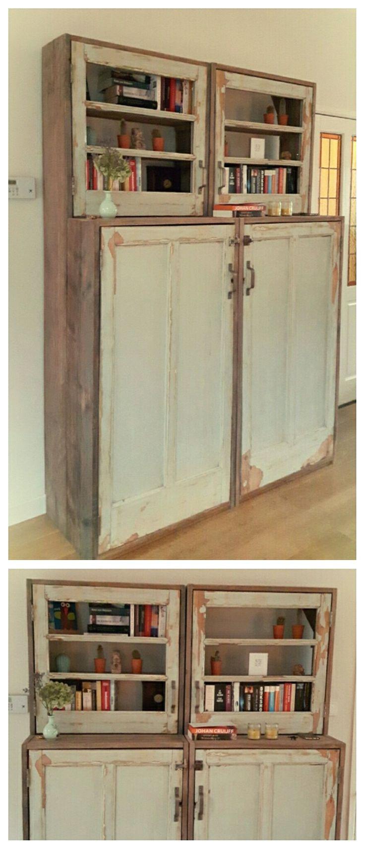 Kasten van oude deuren van CustomThijs