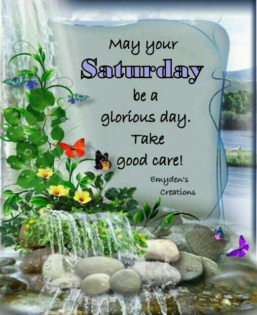 Good morning, wish you a great and Lovely Saturday, God bless. ♥★♥ .