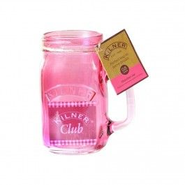 Cana Kilner Jar Pink 400 ml