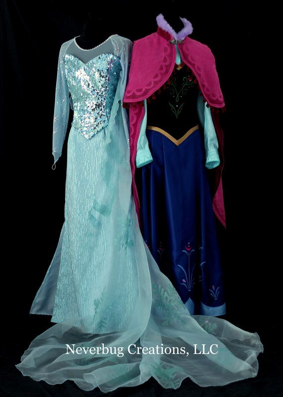 Snow Queen Elsa Costume by NeverbugCreations on Etsy By Neverbug Creations - This etsy shop makes the most beautiful costumes!!!