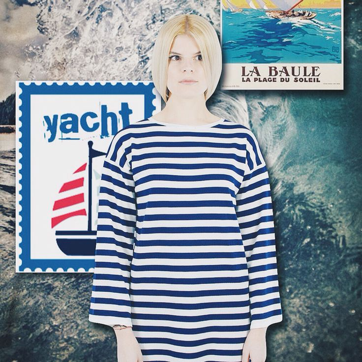 La marinière #marinière #collage #inspiration #demiraknitwear