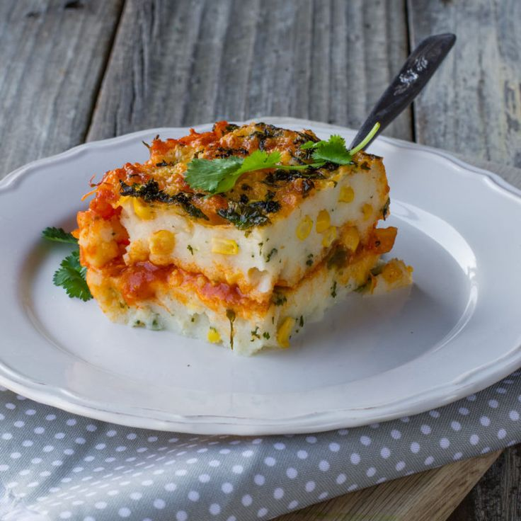 Spicy pap bake: You don't need many ingredients to make this cheesy-spicy braai-winner dish.