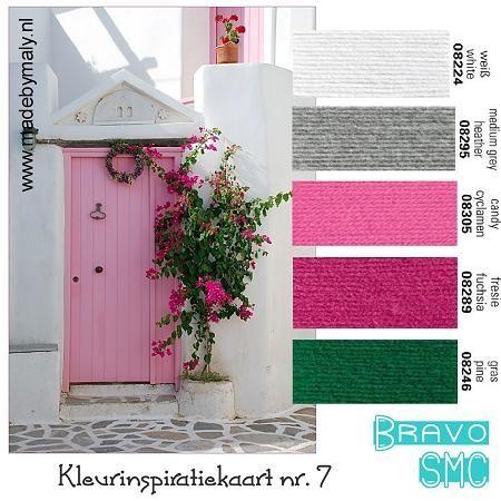 Kleurinspiratie week 1 t/m 12 | madebymaly