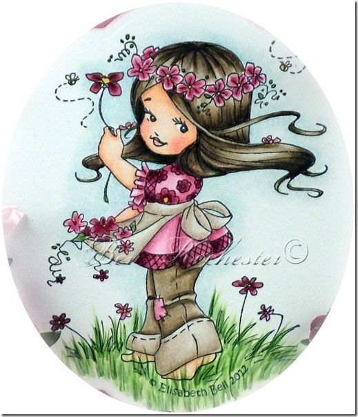 Whimsy Stamps Elisabeth Bell Release Preview Day 1 for Wild Orchid Crafts challenge