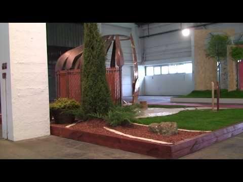 Hajlék a kertben -- ősi térrendezési hagyományaink nyomán - YouTube