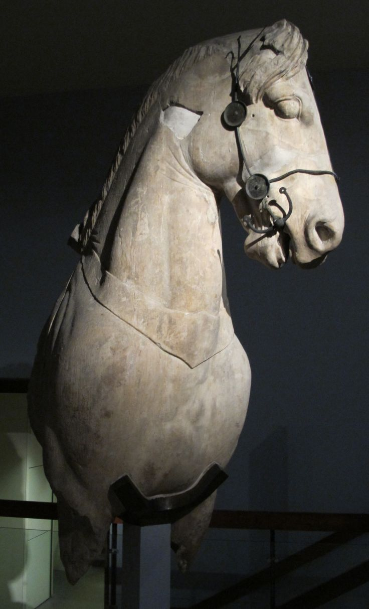 Horse from Mausoleum of Halicarnassus, British Museum, London