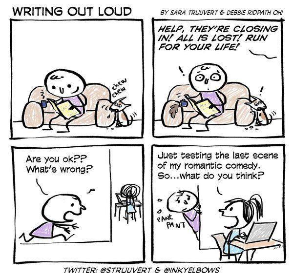 Comic strip writers