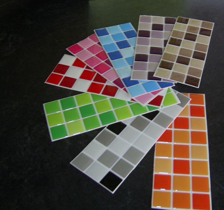 Cenefas adhesivas con variedad de colorido las puedes - Pegatinas decorativas para banos ...